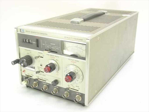 HP 8601A  Function Generator/Sweeper 1 to 110 MHz