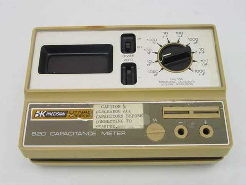 BK Precision 820  Capacitance Meter - As is no power