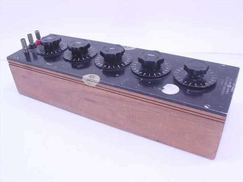 Cinema Engineering 6486-0  Resistance Decade Box