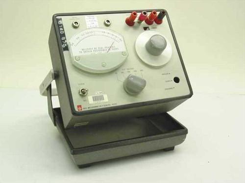General Radio 1863  Genrad Portable Megohmmeter