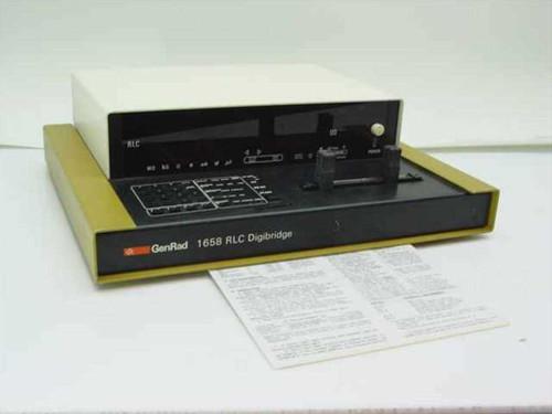 General Radio 1658  RLC Digibridge w/Operations Sheet