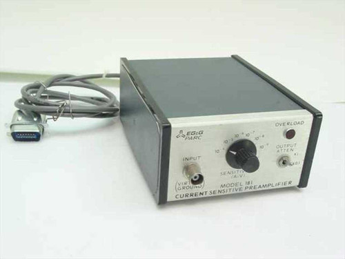 EG&G 181  Current Sensitive Preamplifier