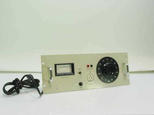 Technipower W10  Variac w/Voltage Meter