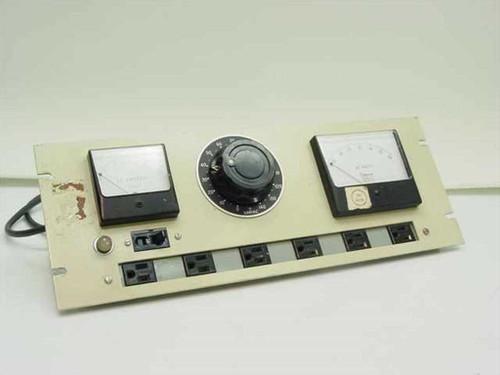Airey Thompson 20G01706  Variac & AC Amperes & Segmental Voltmeter