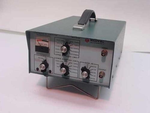 Millivac Instruments MA-164A  Low Noise AC Amplifier