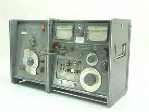 Marconi TF1247  Q-meter with 20-300 MHz Oscillator