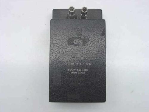 General Radio 509-U  Standard Capacitor