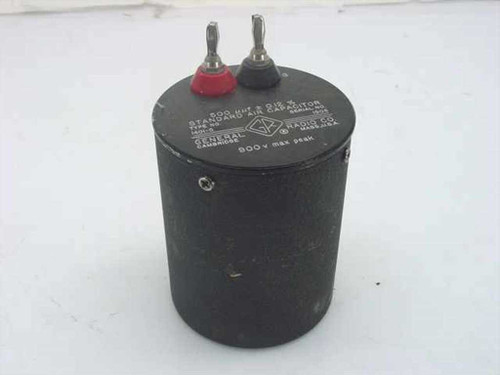 General Radio 1401-C  Genrad Standard Air Capacitor 500pf 900v