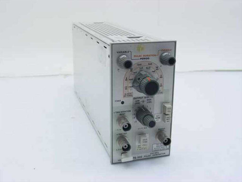 Tektronix PG-502  Pulse Generator 250 MHz for TM 500 Mainframe