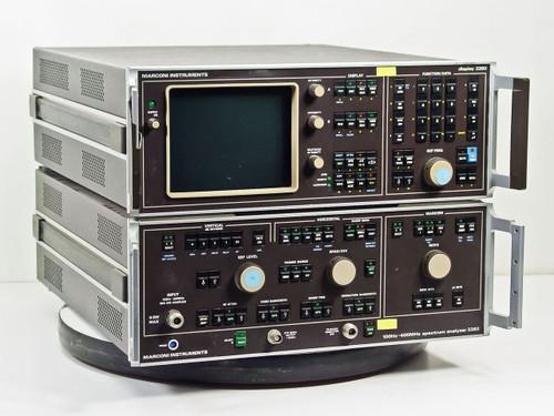 Marconi 2380 / 2382  400MHz Spectrum Analyzer with TG