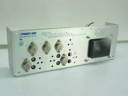 Power One HDD 15-5-A  Linear Power Supply