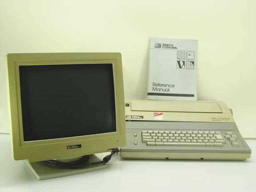 Smith Corona PWP4400Plus  Personal Word Processor Office System w/Monitor