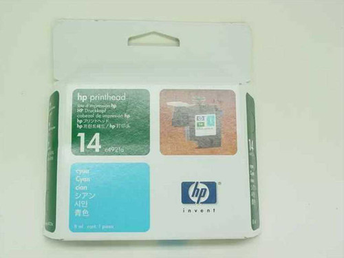 HP C4921A  Printhead 14 Cyan for Printer CP 1160, Copier 610