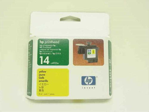 HP C4923A  Printhead 14 Yellow for Printer CP1160, Copier 610