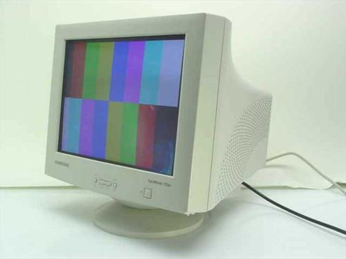 "Samsung 753DF  17"" Flat Screen CRT Monitor"