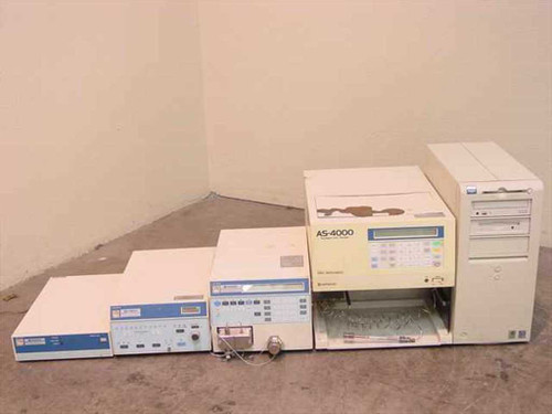 Hitachi HPLC  Includes 4000 sampler 4200 UV-VIS 6000 Interface 6