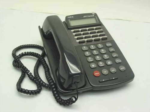NEC ETJ-16DC-2(Bk)  16-Button Speakerphone with LCD Display 570511