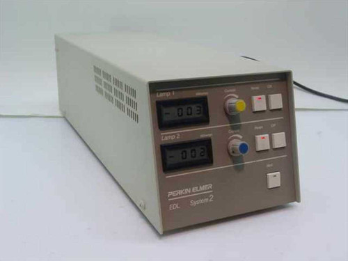 Perkin Elmer EDL System 2  Light Source Power Supply 120V 60Hz 1.4A