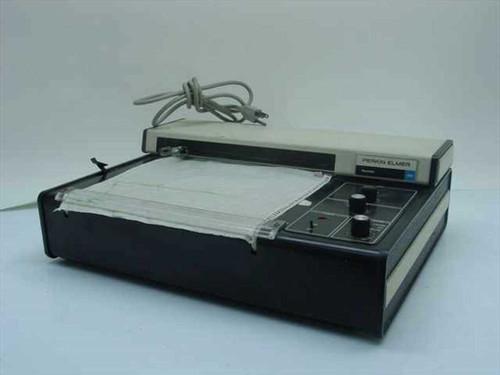 Perkin Elmer 023  Recorder 1 to 30cm/min Chart Speed