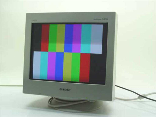 "Sony CPD-G400  19"" Multiscan G400 Trinitron Color Monitor"