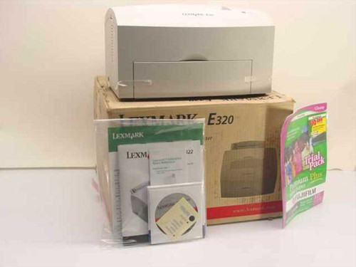 Lexmark 4500-001  Laser Printer E320 New in Box no Toner