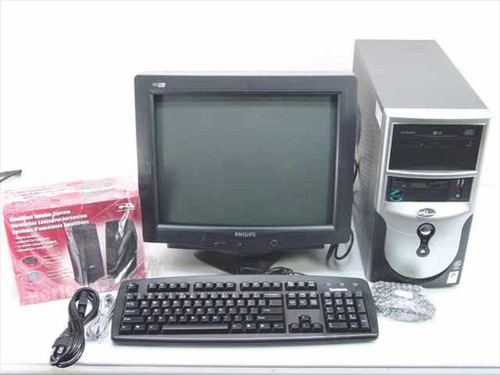 AOL CI-33 C-28  CI33 C28 Cisnet Bundle Celeron 2GHz 256 MB 40 GB C