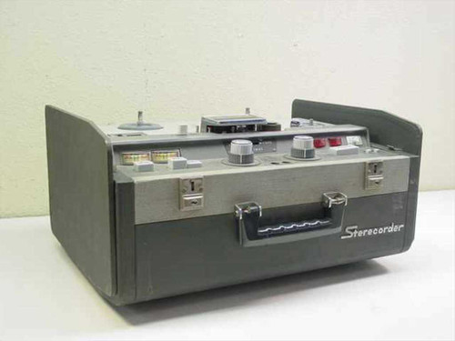 Sony 521  Sterecorder Reel-to-Reel Recorder in case -PARTS