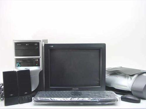 AOL CI-33-C28  AOL Cisnet PC Bundle Celeron 2 GHz 256M/40 GB Comp