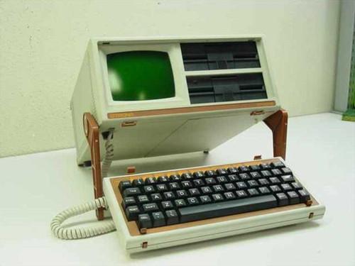 Otrona Attache  Vintage Collectible Portable Computer - Green