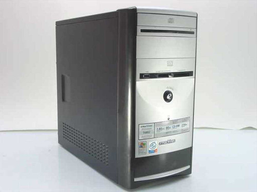 eMachines T4892  P4 2.8 GHz 256 MB CD-RW Desktop PC - No Hard Drive
