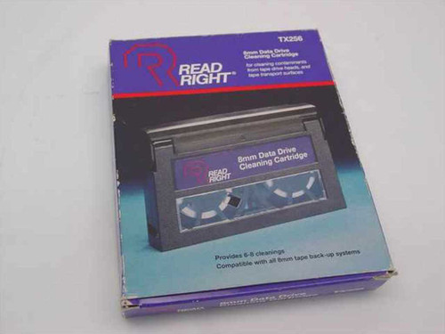 Read Right TX256  8mm Tape Drive Data Cartridge Cleaning Kit
