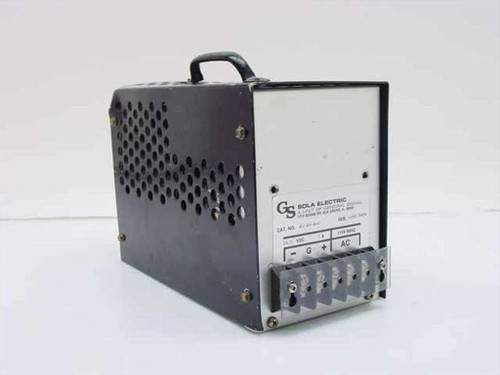 Sola 28-24-280  24 VDC 8 Amp Power Supply 115V 60HZ