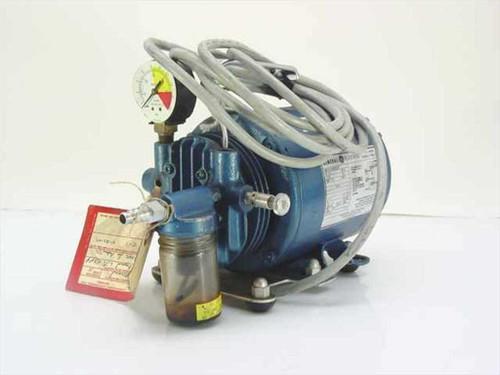 General Electric 5KH33DN16X  Compressor /Vacuum Pump with 1/6 HP motor, 110VAC