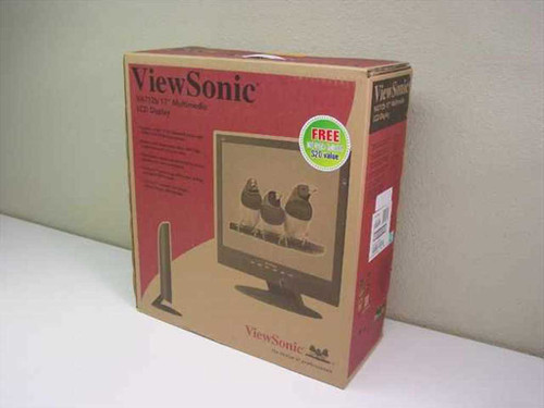 "Viewsonic VA712b  17"" LCD Multimedia Display Monitor"
