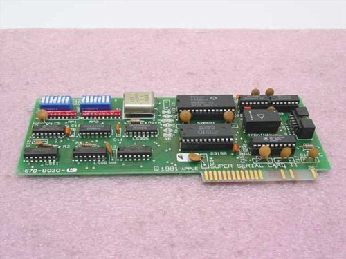 Apple 670-0020  Apple II Super Serial Card