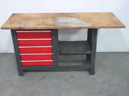 Generic Workbench  5 - Drawer workbench 24 x 60
