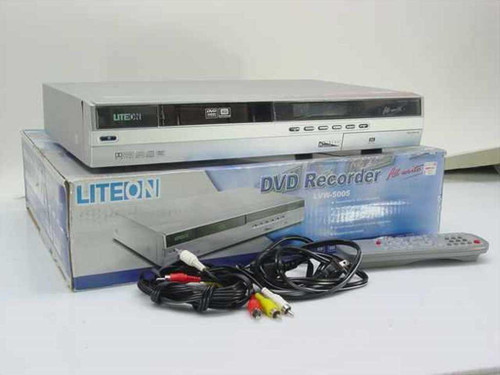 Lite-on LVW-5005  DVD Recorder for TV VCR and Camcorders