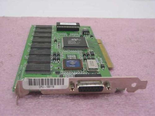 IXMicro Twin Turbo 128MA  PCI Video Card Mac Twin Turbo 8 Meg Revision 3.7