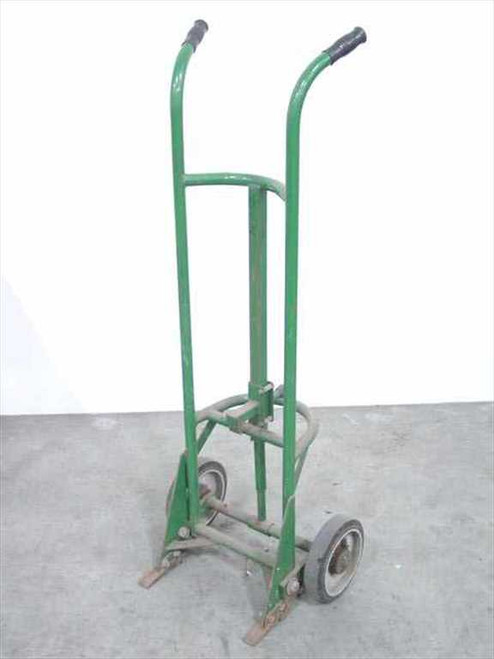 Material Supplies Dist. Green  Hand Truck Drum Dolly