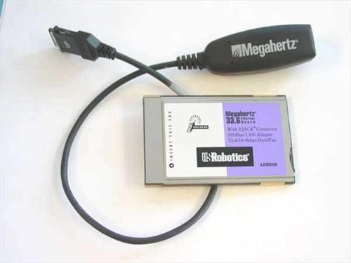 Megahertz PCMCIA Combo 28.8, 14.4 S/R Data Fax (XJEM3288)