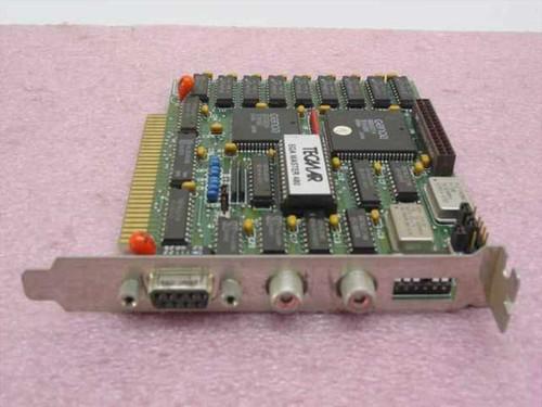 Tecmar EGA Master 480  EGA Video Card 8 bit ISA