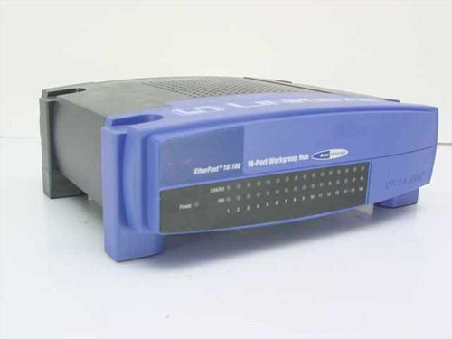 Linksys EFAH16W  EtherFast 10/100 16-Port Workgroup Hub