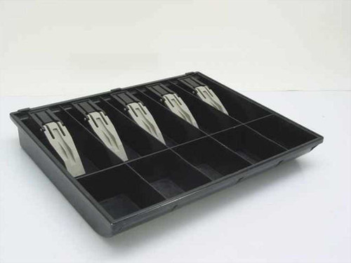 Generic Black  Plastic 10 Compartment Money Tray for Cash Drawer
