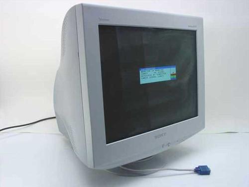 """Sony CPD-E540  21"""" Trinitron Multiscan Monitor"""