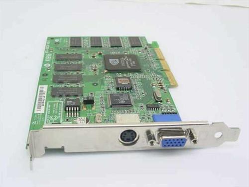Compaq 237466-001  AGP Video Card NVIDIA NV11 MX400 64MB TV/OUT