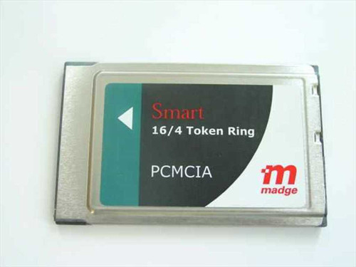 Madge Smart 16/4 Ringnode PCMCIA Mk2 token Ring  150-133-03