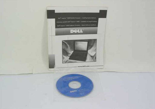 Dell 6404EA01  Inspiron 3500 Installing System Software CD