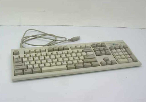 Mouse Systems KWD-203  1-0-4 AT/PS2 5 pin Keyboard 404256-001