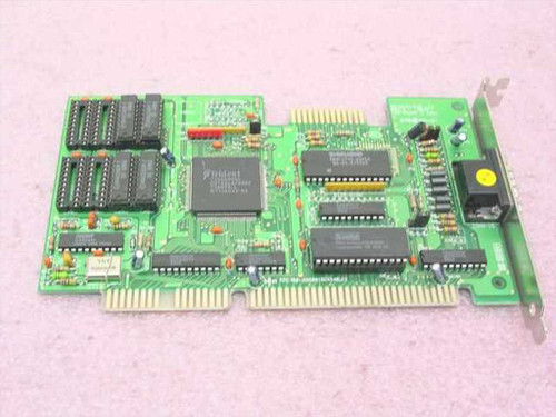 Trident 8916CX2/4/8 LC2 Rev C  ISA Video Card 1 MB
