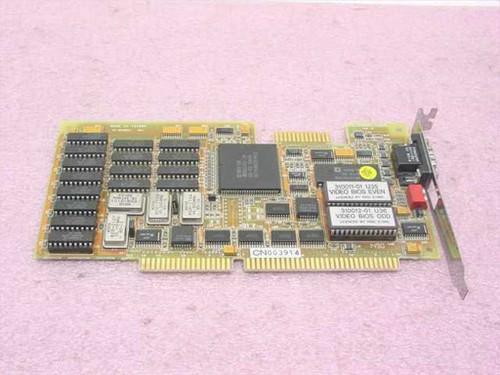 Western Digital WD90C00-JK  16BIT ISA SVGA Card 59-6672-00A1 V1.00
